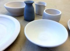Keramik innan glasyr