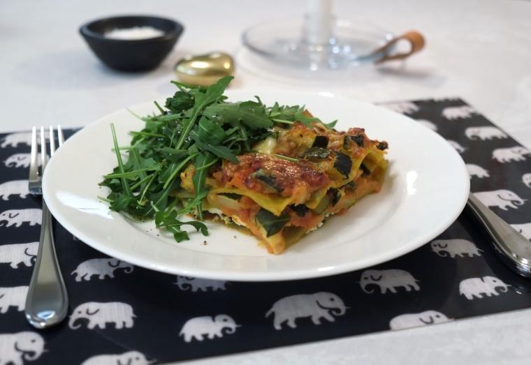 Vegetarisk lasagne 009